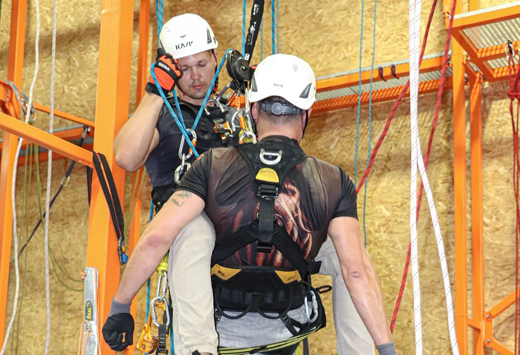 IRATA Rope access level 1 technician training in IQTC Riga